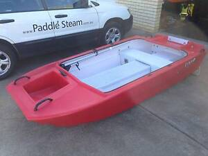 Catamaran Dinghy with Bimini and Fold Down Wheels Sydney City Inner Sydney Preview