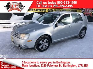 2010 Volkswagen City Golf Automatic, Heated Seats, Power Group,