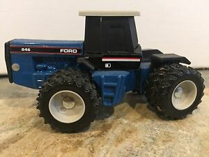 Ford 846 1/64 scale 4WD farm toy tractor