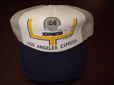 Los Angeles Express Steve Young Usfl  Script Vintage 1982  Hat Cap  Snapback