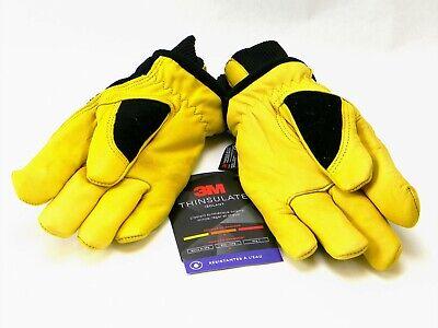 Holmes Workwear 3m Thinsulate Goatskin Leather Winter Work Gloves - Medium - 1pr
