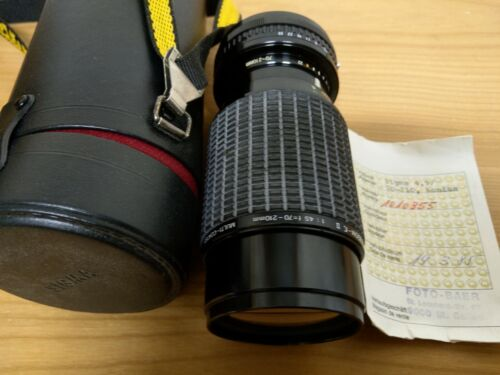 SIGMA TELE ZOOM Objektiv 4,5/70-210mm Macro für Konica Spiegelreflexkamera