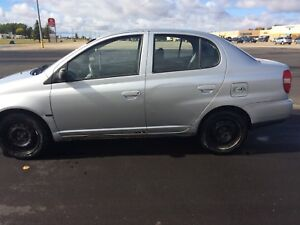 2000 Toyota echo 4dr SAFETIED