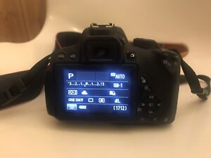 DSLR rebel T5i canon camera