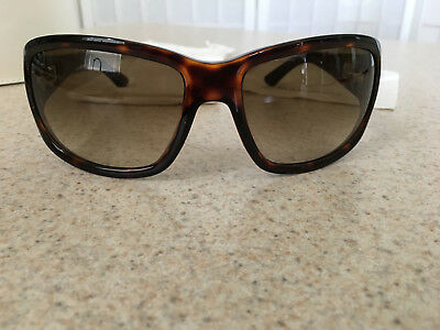 YSL Yves Saint Laurent Tortoise Square Sunglasses 6111/S