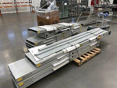 Hytrol 80 End-drive Belt Conveyor System 80-foot 24 Wide W 20w Belt