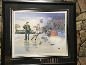 """James Lumbers """"A boy and His Dream"""" framed print"""