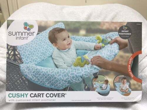 NEW Summer Infant 2-in-1 Cushy Cart Cover and Seat Positione