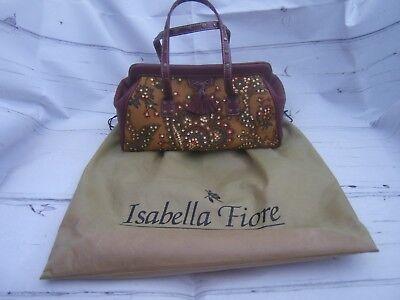 Isabella Fiore Rare 'Marrakesh' Tassle Frame Brand New Handbag