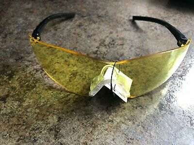 Crossfire Safety Glasses Blade Yellow Anti-fog Lens