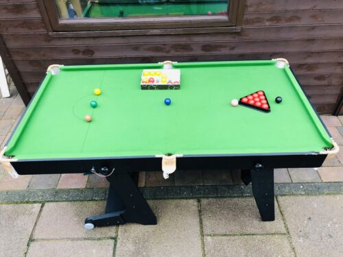 Snooker Table with accessories Made By BCE