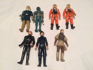 Vintage Star Wars action figures $10 each