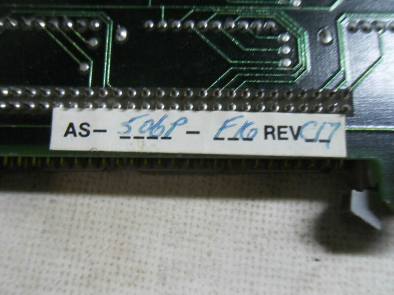 (A3) GOULD MODICON AS-506P-F16 REV C17 MEMORY MODULE