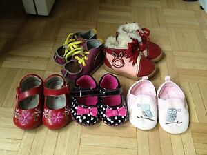 Lot of shoes for 12-18 month old