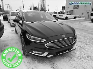2018 Ford Fusion Titanium AWD| Sun| H/C Leath| Push Start| 19 Ri