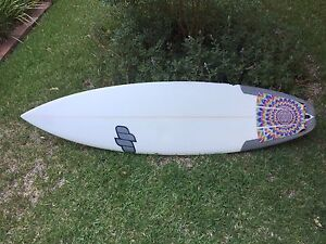 5 11 DP Performa Surfboard ridden once Cronulla Sutherland Area Preview