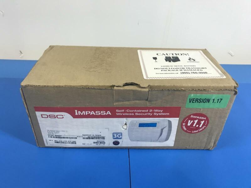 DSC IMPASSA KIT457-95HSADT Self Contained 2-Way Wireless Security System