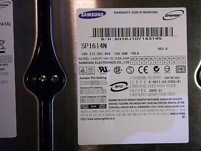 Ide Hot-swap (Samsung, Intern, 7200 RPM, (3,5 Zoll) (SP1614N) Festplatte IDE-ATA)