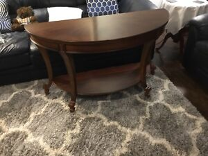 End tables (2) matching sofa Table orig price over 1,200.