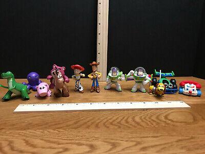 """TOY STORY 2 3  2.5"""" Figurines Lot of 12! WOODY BUZZ JESSIE REX BULLSEYE DISNEY ](Jessie Toy Story 2)"""