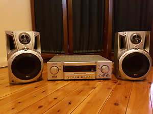 Sansui Surround Amplifier and 2x LG Speakers Tamworth Tamworth City Preview