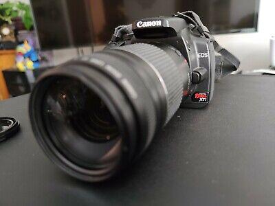 Canon Rebel XTI Digital DSLR with EF  75-300mm lenses