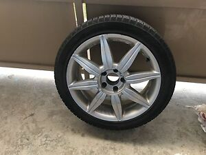 Winter tires on rims for sale Kitchener / Waterloo Kitchener Area image 1