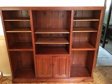 Solid timber entertainment unit Oatley Hurstville Area Preview