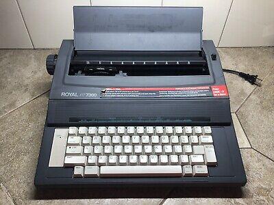 Royal Rt7300 Portable Electronic Typewriter