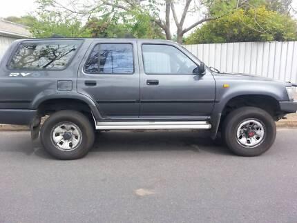 Toyota 4 Runner Wagon 4x4 Cumberland Park Mitcham Area Preview