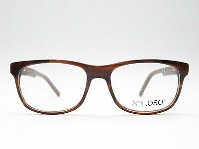 Brille Damen 54□17 140 Designer Brillenfassung braun Kunststoff panto STIL.OSO