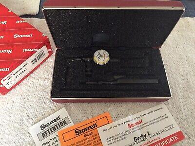 Starrett Last Word 711 Dial Indicator New In Box Model 711fsaz .001 Grad.