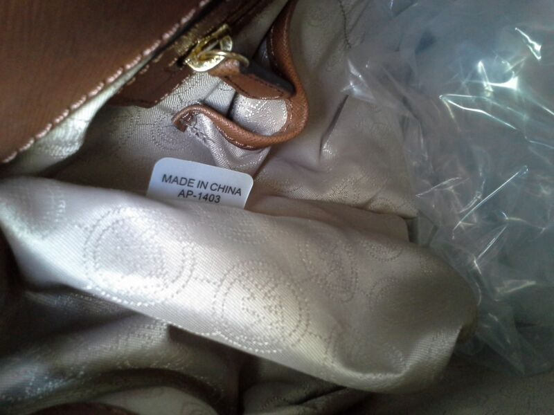 michael kors made in china