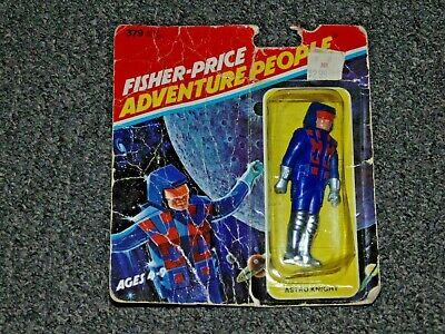 Fisher Price Adventure People Blue Astro Knight 1978