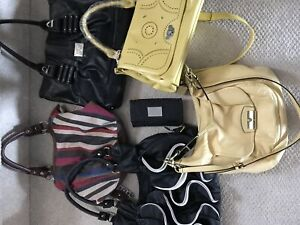 Multiple bags including Authentic coach bag - Best offer -
