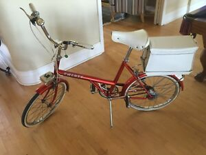"Vintage Raleigh ""The Shopper"" bicycle!"