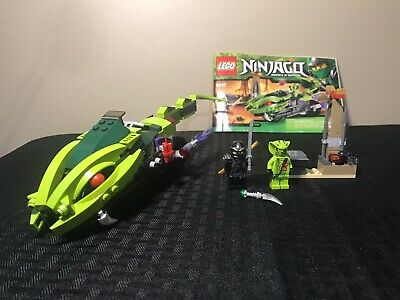 LEGO Ninjago Lasha's Bite Cycle 9447 Complete w/ minifigs & instructions no box