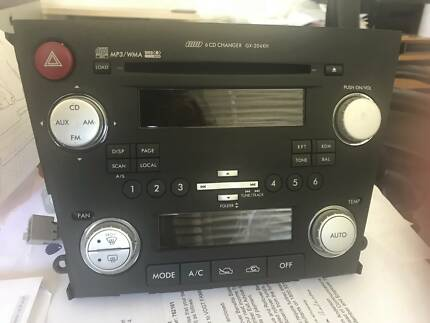 Gen 4 Subaru Stereo (radio/cd) head unit with Climate Control Hawker Belconnen Area Preview