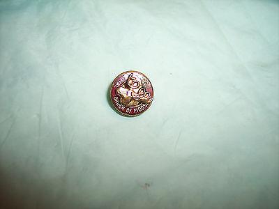 Vintage  - PAP Loyal Order of the Moose -  Pinback Pin