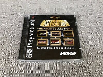 Arcade's Greatest Hits: The Atari Collection 1 Sony PlayStation 1 Midway CIB PS1 ()