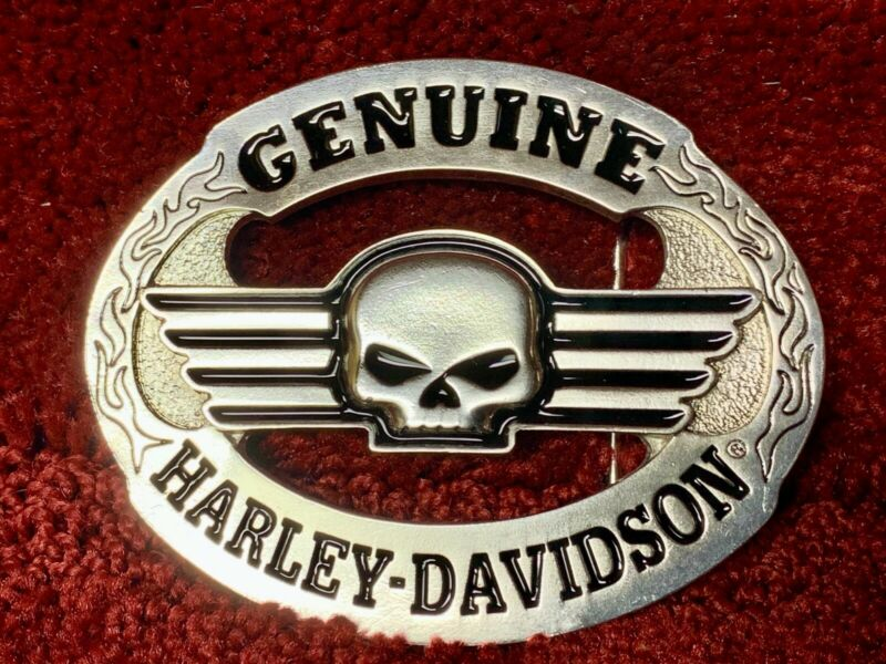 Genuine Harley Davidson Belt Buckle Willie G Skull Limited Edition 96361-07 NOS