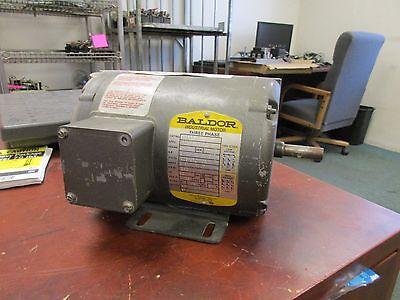 Baldor Industrial Motor M3455 14hp 1140rpm 208-230460v 1.5-1.4.7a New Surplus