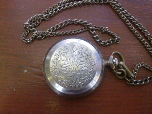 VINTAGE MOLNIJA  USSR SOVIET POCKET WATCH MOLNIJA