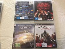 9 PS3 Games - in excellent condition Spring Hill Brisbane North East Preview