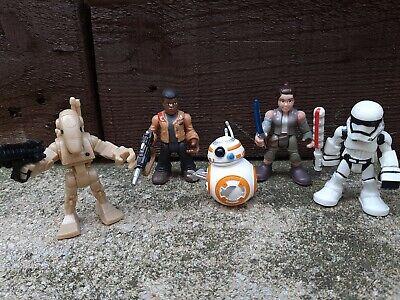 Star wars Galactic Heroes Figures Bundle Playskool Imaginext BB8 Finn