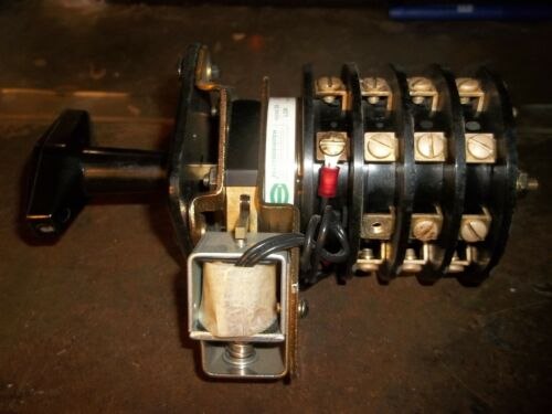 ELECTROSWITCH 7803A ROTARY SWITCH 24 VDC (L4)
