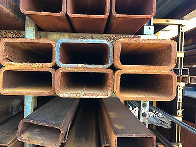 Mild Steel Rectangular Tube║50 x 25 mm║box section iron,profile,tubing,pipe