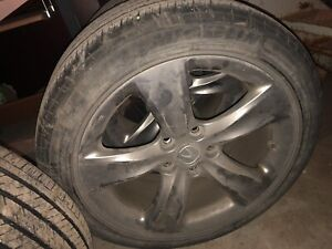 ACURA TL Original 18'' mags with summer tires