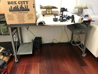 Computer Desk (Desk Only) with Organizer Computer Desk Organizers
