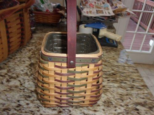 LONGABERGER  2006 HERITAGE DAYS BASKET COMBO